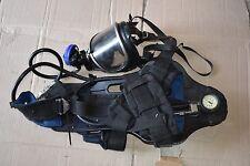Drager PA90 Plus Breathing Apparatus & Panorama Nova Mask