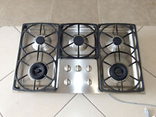 "MIELE MODEL KM342LP 36"" LP PROPANE GAS 5 BURNER COOKTOP STAINLESS"