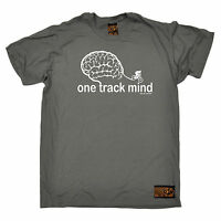 One Track Mind Cycling T-SHIRT tee jersey funny birthday gift present for him