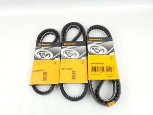 4pcs Continental Contitech Volvo 240 244 245 Service Kit Drive Belts 86-93
