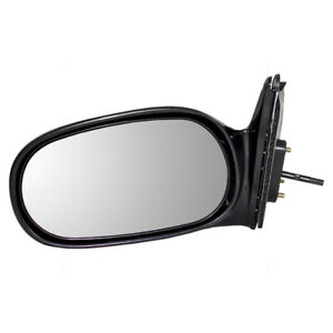 Fits Toyota Corolla Chevrolet Prizm 98-02 Drivers Side View Manual Remote Mirror