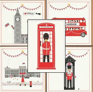 London Greeting Cards - Eleanor Stuart - Luxury Designer Souvenir UK