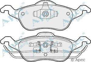 Apec PAD1034 Ford Focus Front Brake Pads MK 1 All Models Except RS & ST