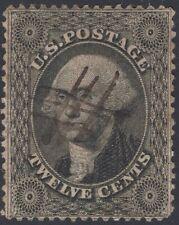 New Listing#36 Vf Used-12¢ Washington-Series Of 1857-61 (Rem #36-326)
