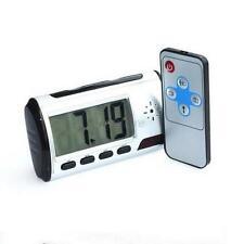 Clock Hidden Video Camera/DVR Nanny Cam Motion Activated Recorder