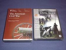 Teaching Co Great Courses  DVDs             AMERICAN CIVIL WAR    newest + BONUS