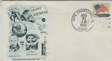 USA 1965 SPACE RELATED COVER PROJECT GEMINI