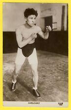 cpa SPORT de Combat Le BOXEUR Français Edouard MASCART vers 1920 Boxer Fighter