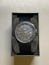 Braun GMT Analog Watch, Black, BN0142BKBKG
