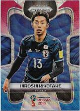 2018 Panini FIFA World Cup Blue Red Wave Prizm (126) Hiroshi KIYOTAKE Japan