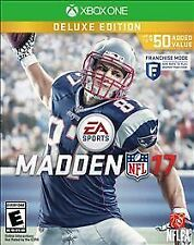 Madden NFL 17: Deluxe Edition (Microsoft Xbox One) With Case