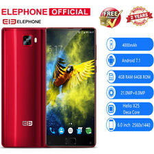 Elephone S8 6.0inch 4G Smartphone Deca Core 4/64GB 21MP 4000mAh WIFI Fingerprint