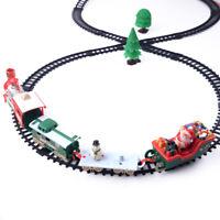 Árbol de Navidad Musical Santa Tren Y Pista Set Juguetes Niños Regalo Fiesta