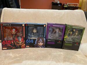 DOTA 2 - Figures - Anti-mage - Windranger - Mirana - DK - Nendoroid Figma - GSC