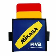 Mikasa FIVB Volleyball Referee Cards Yellow Red Judge japan new.