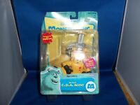 RARE DISNEY PIXAR MONSTERS INCORPORATED INC RED ALERT C.D.A. AGENT FIGURE NEW