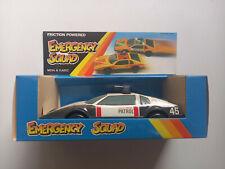 Toyota mit Sirence, Highway Patrol - European Toy Company ETC DDR VEB Spielzeug