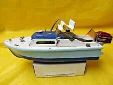 Vintage Langcraft Toy Electric Outboard Boat - Made in Japan