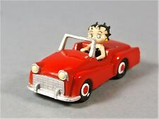 PLASTOY KFS/FS - BETTY BOOP Driving TRIUMPH TR-3 Plastic Car Figure VINTAGE NEW