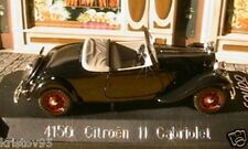 CITROEN TRACTION AVANT 11 CABRIOLET SOLIDO 4150 1/43 MADE IN FRANCE