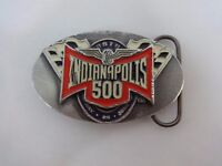 2002 Indianapolis 500 Event Belt Buckle 199 of 500 Limited Hélio Castroneves