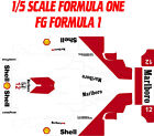 FG FORMULA ONE 1X5 SCALE CUSTOM  MARLBORO THEME WRAP KIT