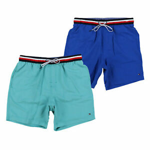 Tommy Hilfiger Mens Swim Trunks Bathing Suit Bottoms Logo 7 Inch New Nwt Pool Th