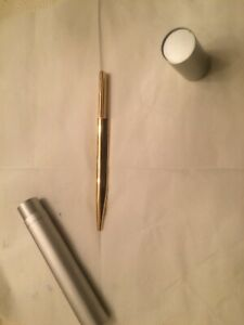 Penna eccentric Bulgari Mint (penna a sfera)