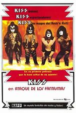 KISS MEETS THE PHANTOM OF THE PARK Movie POSTER 27x40 Spanish KISS (Gene Simmons