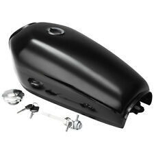 Motorcycle Cafe Racer Vintage Fuel Gas Tank & Tap For Honda CG125 2.4 Gallon 9L