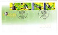 "2006 FDC Australia. Soccer in Australia. Pict.FDI  ""SYDNEY"""