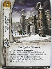 A Game of Thrones 2.0 LCG - 1x #154 Die Tore von Winterfell - Base Set - Second