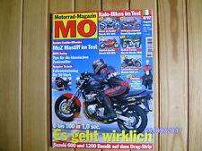 MO 8/1997 Bimota Mantra+DB2,916 SPS+ST2+M 600,VT 750 C2,K 1200 RS,GTS 1000,Boxer