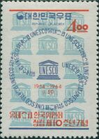 Korea South 1964 SG506 4w UNESCO MNH
