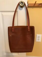 Portland Leather Goods Small Classic Tote Caramel