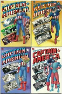 The Adventures of Captain America Sentinel of Liberty #s 1-4 Marvel (1991) VF/NM