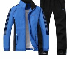 Men's Jacket And Jogging Pants Set For Sports Training Wears Thin Comfy Clothing