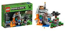 LEGO 21113 Minecraft-Die Höhle-The Cave-Steve-Zombie-Spider-Set-OVP-New-Neu