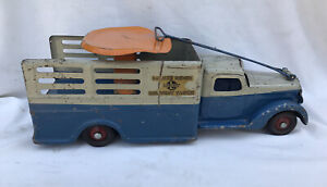 Buddy L Original Deluxe Rider Delivery Truck (Sit & Ride) In Great Condition
