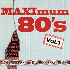"""MAXIMUM 80´s = Maxi / 12"""" Versions + Rare Remixes = CD = POP ROCK SYNTH POP"""