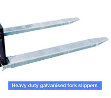 Fork Tyne Extension Slippers 1800mm Galvanized Varying Sizes Fully Enclosed NSW