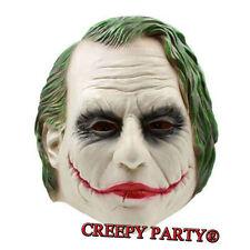 Movie Batman Joker Latex Mask The Dark Knight Cosplay Fancy Dress Party Masks