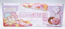 New Little Twin Stars Kitchen Plastic Bags 30 pcs in Box Sanrio Kawaii Free Ship