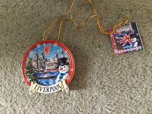 BNWT LIVERPOOL CHRISTMAS TREE DECORATION