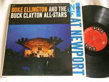 DUKE ELLINGTON & BUCK CLAYTON at Newport Coleman Hawkins J.J. Johnson LP