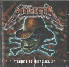 CD - The Metal Militia - Tribute To Metallica 3 - by V/A UPC 7393757060186