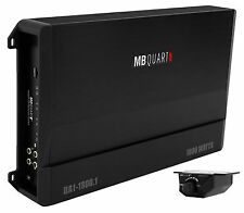 MB Quart DA1-1800.1 1800 watt RMS Mono Class D Car Audio Amplifier Discus Amp