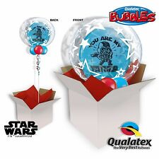 Fathers Day Deco Double Stuffed Balloon in a Box Star Wars You Are My Father