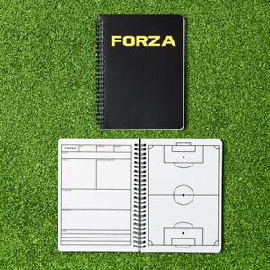 FORZA Football Coaching & Training Notebook   A4/A5 Coaches Tactics Notepad