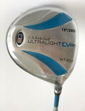 "Kids Golf Driver. U.S Kids Golf UL48"" DV2 Graphite Shaft. Blue Right Hand. New!"